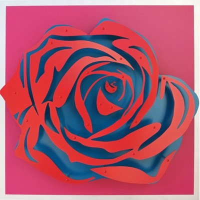 Rose - Red on Magenta by  Kalish Editions