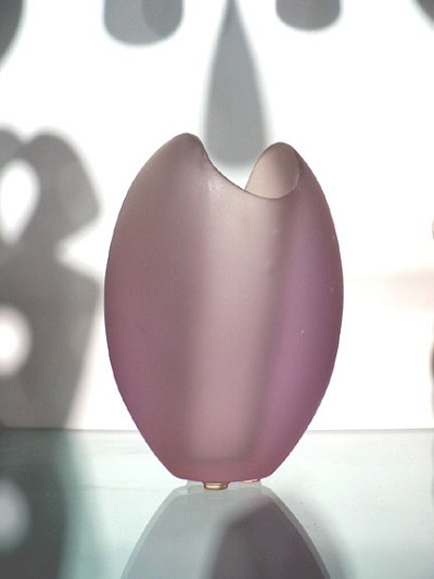 small purple egg vase by  bam bam designs