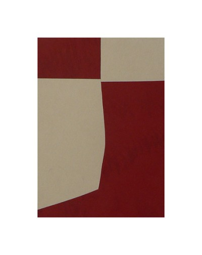 Untitled (Maroon) III by Peter Zaleski