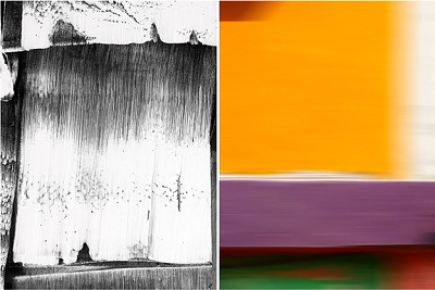 Untitled Diptych #1, 2014