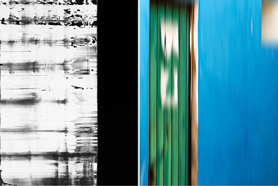 Untitled Diptych #4, 2014