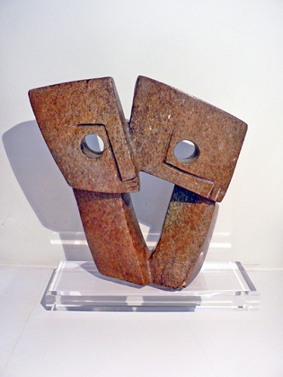 Shona Sculpture (Lovers)