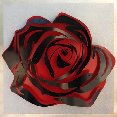Rose - Black on Diamond Dust by  Kalish Editions