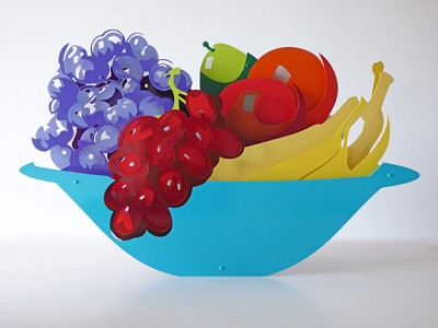 Large Fruit Bowl by  Kalish Editions