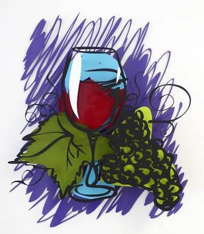 Wine Still Life by  Kalish Editions