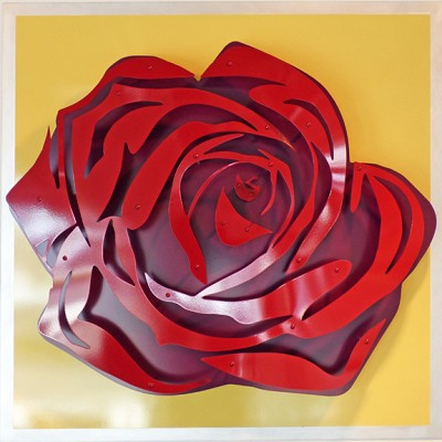 Rose - Red on Yellow by  Kalish Editions