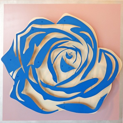Rose - Blue on Lavender by  Kalish Editions