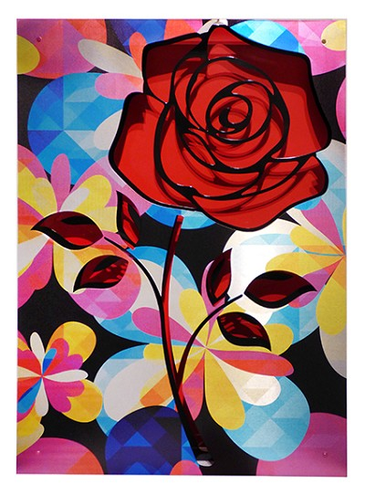 Crush/Rose on Red by  Kalish Editions