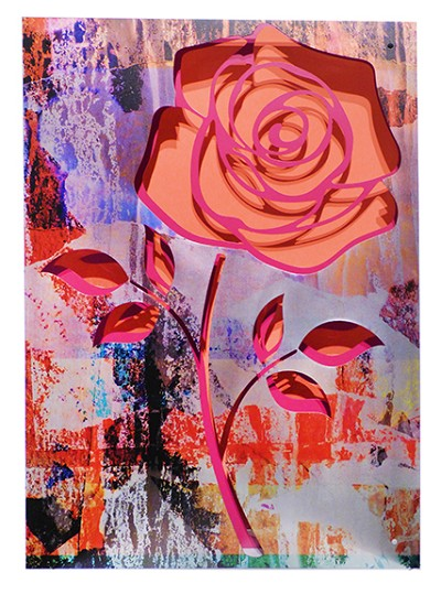 Crush/Rose on Coral by  Kalish Editions