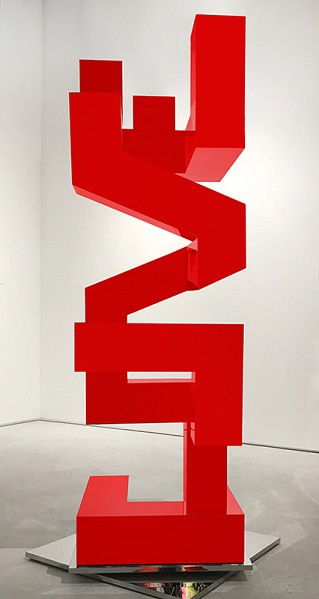 The Art of Finding Love - Red Vertical by  Kalish Editions
