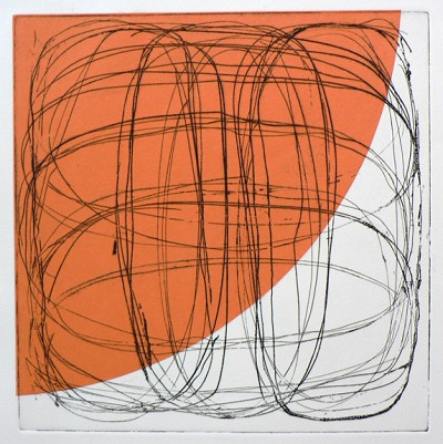 Untitled (orange) by Billy Criswell