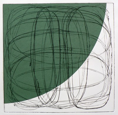 Untitled (green) by Billy Criswell