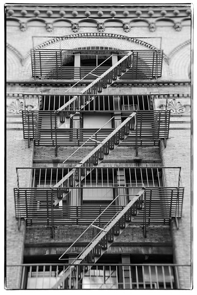 NY fire escape 1
