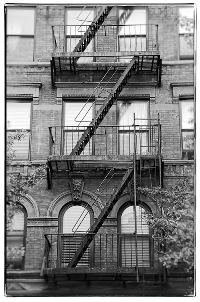 NY fire escape 5