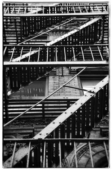 NY fire escape 6