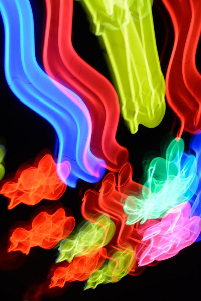 Neon Waves 2 by Michael Banks