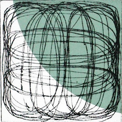 Untitled (grey green2) by Billy Criswell