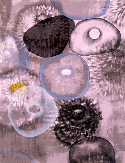 Happiness For Instance I by Ross Bleckner