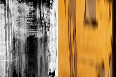Untitled Diptych #3, 2002 by Mazal / Mankus