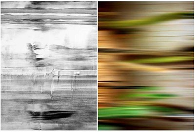Untitled Diptych #7, 2002 by  Mazal / Mankus