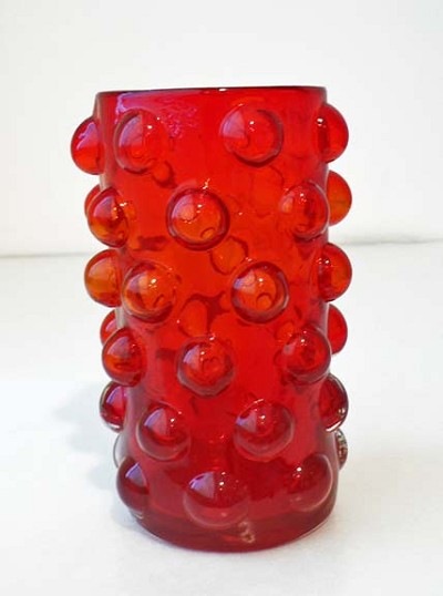 Ruby Goblet by  Blenko Glass Company